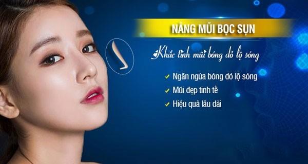 Phương pháp nâng mũi bọc sụn